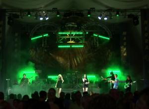 Actuación de Magia Negra a Vinaròs