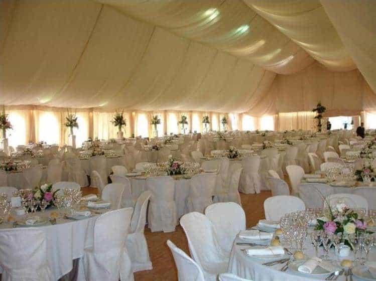 Alquiler de carpas maestrat carpas 135 1 for Alquiler decoracion bodas