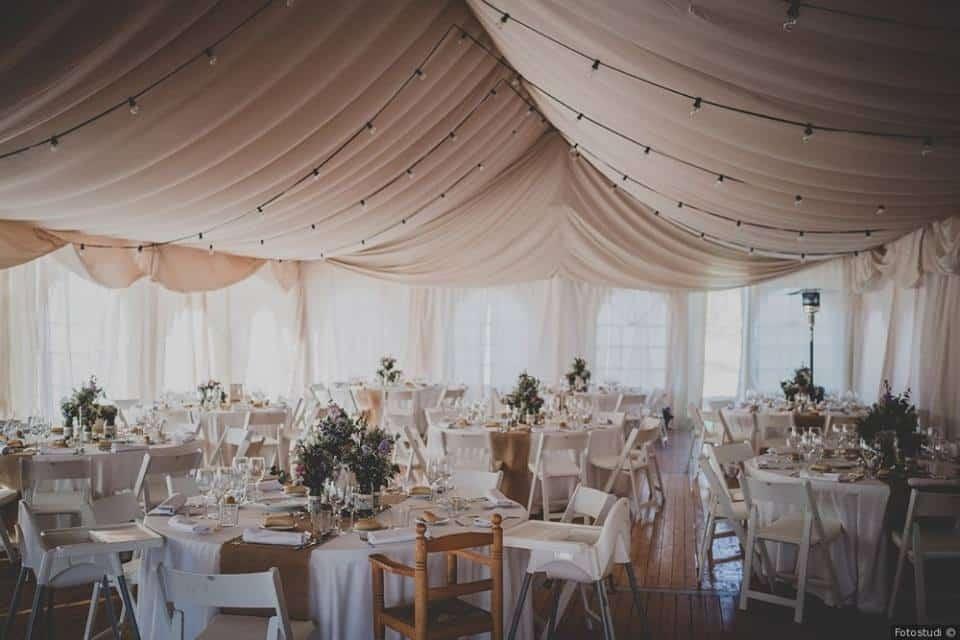 Alquiler de carpas maestrat for Alquiler decoracion bodas